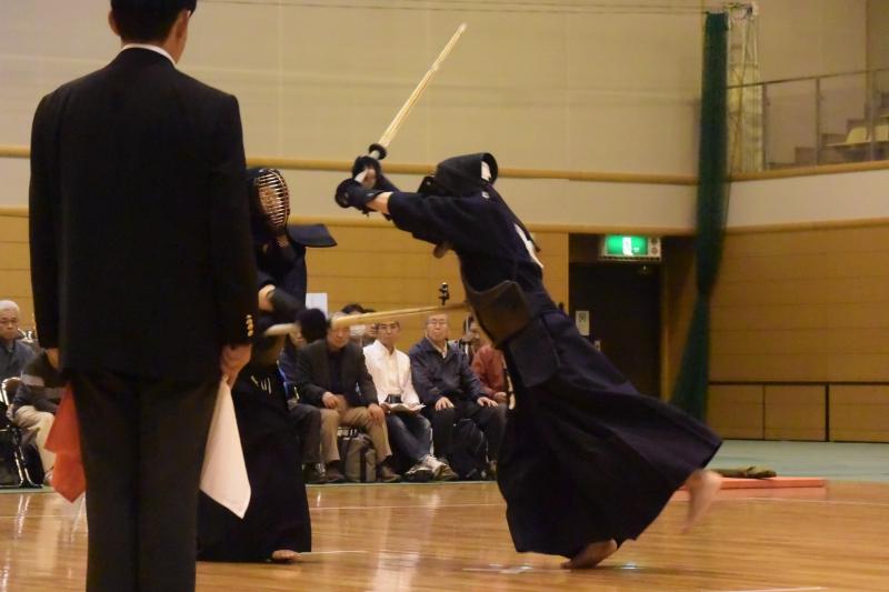Matsumoto's kaeshi-do against Kurita