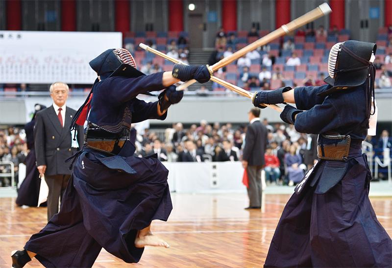 Kunitomo at the 67th All Japan Kendo championship