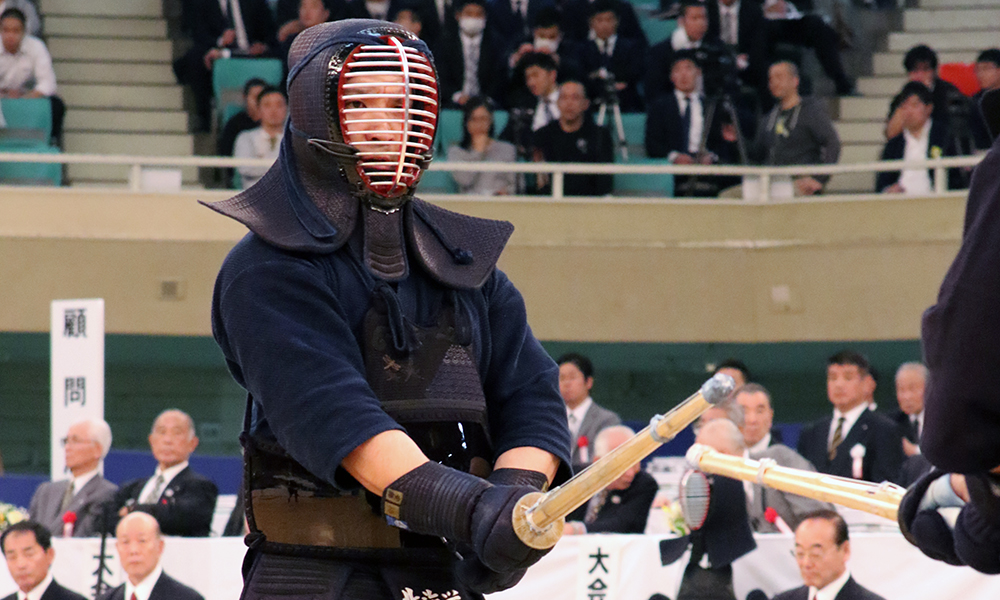 Ando Sho at 2018 All Japan Kendo Championship