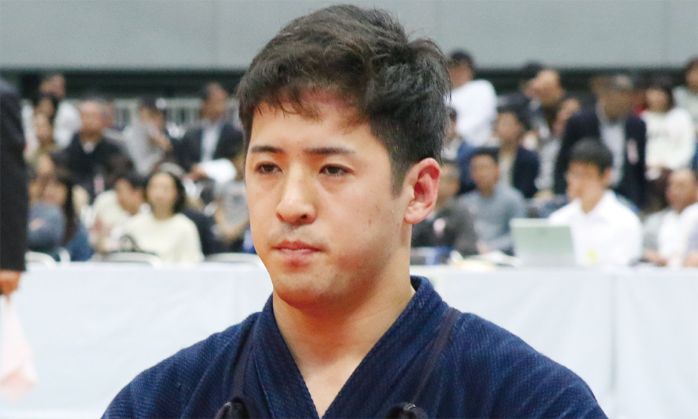 Matsuzaki Kenshiro, the 2nd place winner for the 67th All Japan Kendo Championship