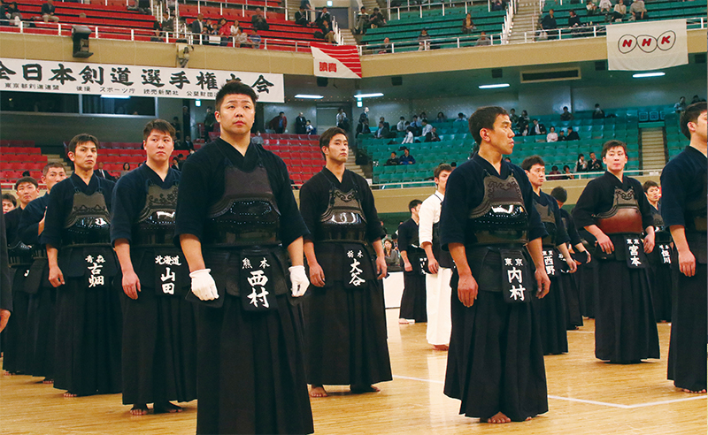 Nishimura Hidehisa at All Japan Kendo Championship 2018