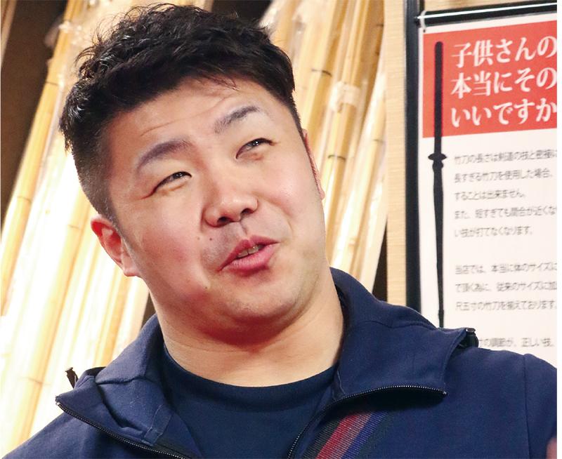 Nishimura Hidehisa getting interviewed