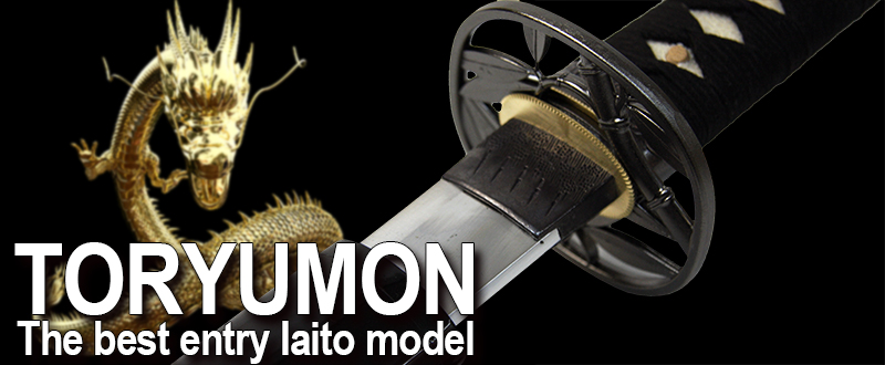 Toryumon Iaito - The best entry Iaito model