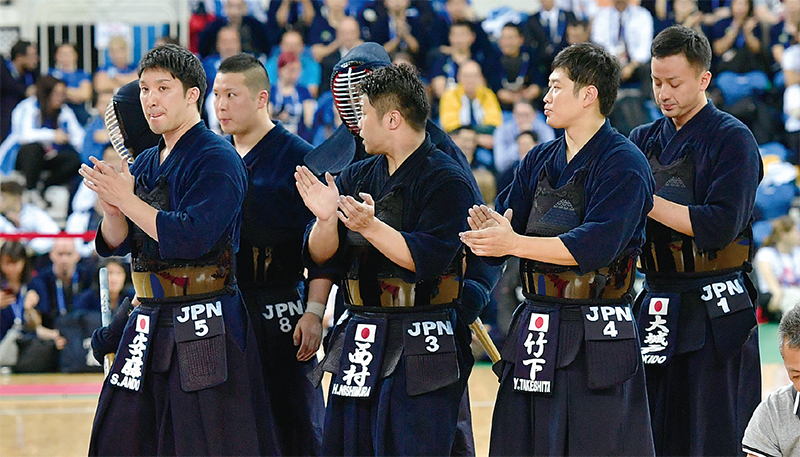 All Japan Kendo national team