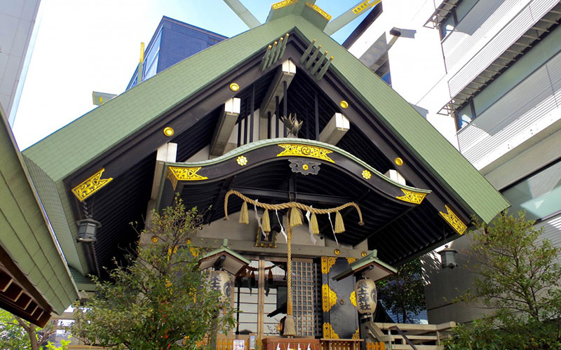 Tsukudo Jinja Shrine